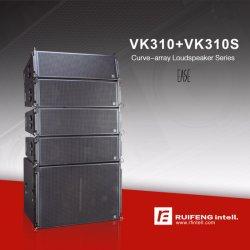 직업적인 스피커 직업적인 오디오 시스템 3방향 큰 여행 선 배열 스피커 시스템 PA 스피커 Vk310