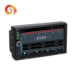 Doppi lettore DVD universale dell'automobile dello schermo di tocco di memoria di collegamento 6g/32g dello specchio di percorso di GPS del Android 8.1/9.0 tutti compresi della macchina di percorso del riproduttore video dell'automobile di BACCANO 7918 HD