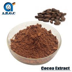 Estratto naturale 10%, grado farmaceutico del cacao della polvere della teobromina di 20%