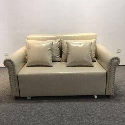 Salón Sofá de cuero Sofá Muebles moderno de Nuevo Diseño con Almacenamiento Sofá cama Seccional