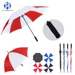 Долго Memory Stick™ вручную открыть поле для гольфа зонтик с цветовой комбинации/Fashion прямо поле для гольфа Umbrell ручки EVA