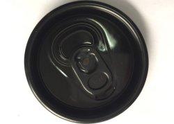 De gekleurde Dronkaard 202# B64 typt Gemakkelijk Open Aluminium kan Deksel met het Lusje van de Trekkracht van de Ring van de Kleur rangschikken