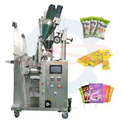 Bolsitas Vertical Automática de especias de cacao Pimiento relleno de la bolsa de leche en polvo de la máquina de embalaje sellado con la impresora