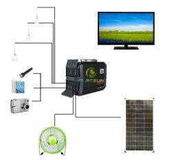 طاقة شمسية منزلية محمولة عالية الكفاءة بقدرة 20 واط بقدرة 30 واط بقدرة 100 واط النظام