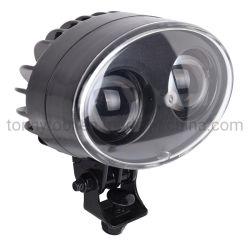 Foco LED Lámpara de carretilla elevadora, azul/rojo de la luz de advertencia de la luz de la seguridad de la transpaleta