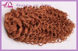 Ослабление глубокую синтетические волосы, 100% волокна Kanekalon Wite наилучшего качества (BHF-S02)