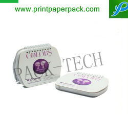 Impressão personalizada Bonitinha Mini Calendários de mesa de papel
