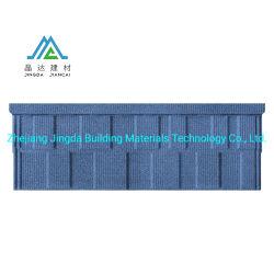 Matériaux de haute qualité pour l'isolation thermique et réduction du bruit, facile à installer les tuiles du toit de tuiles de métro Multi-Color tôle de toit