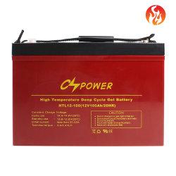 Cspower 12V 100ah/200ah/300ah 고온 - 태양열 - 겔 - 심부 - 사이클 - VRLA - 충전식 - SMF - 산업용 배터리/태양열 - 시스템 - 배터리/해양