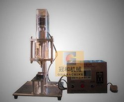 小さい適量のための半自動机タイプ粉の充填機