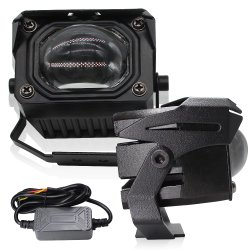 자동 영사기 렌즈 RGB LED 장방형 헤드라이트 X3 C6 H4를 가진 Lightech LED 모는 빛 S2