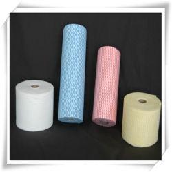 Toalhas de papel de cozinha ultra absorvente, Serviço Pesado Ecológico de panos de limpeza doméstica reutilizáveis lavável rolos, Non-Woven impressos papéis de absorção de óleo alimentar molhado