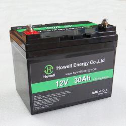 Шэньчжэнь Хауэлл 12V 30AH аккумуляторы LiFePO4 литий-ионный аккумулятор