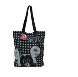 Eco-Friendly Non-Woven Bag Sacola de Compras Saco de lona de padrão de desenhos animados