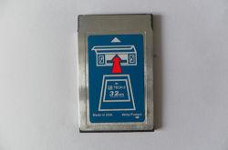 Scheda di memoria di mb PCMCIA dell'istantaneo 32 di tecnologia 2