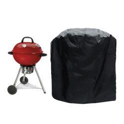 Couvercle étanche noir Barbecue Grill BBQ ACCESSOIRES Couvercle anti-poussière de charbon de bois Barbecue électrique gaz de pluie grill barbecue de fournitures