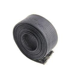 Ampliable de nylon de alta densidad de fundas funda de la gestión de cables trenzados