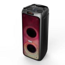 Novas chegadas luz de incêndio PA do Gabinete do Alto-falante PRO amplificadores misturadores de áudio do Sistema de Microfone Sem Fios de Home Theater Powered Função Tws do alto-falante