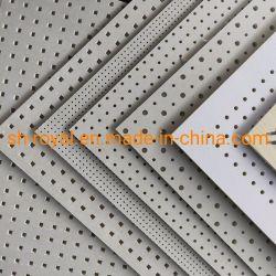 Perforierte Gips-Decken-Fliese der Belüftung-Gips-Decken-Tile/PVC akustische