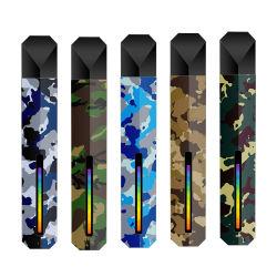 도매 E 담배 재충전 Vape Pod E CIG는 화려한 색감을 가지고 있습니다 라이트