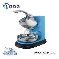 China-elektrischer beweglicher Eis-Zerkleinerungsmaschine-Würfel-Maschinen-Eiscreme-Schnee-Kegel-Hersteller-Edelstahl-Block-Mischmaschine-Eis-Rasierapparat