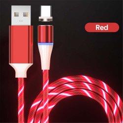 RT-MC7 Best LED 3A 마그네틱 USB 데이터 고속 충전 케이블