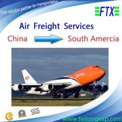 La Chine International Air Service de logistique d'expédition au Chili/Mexique/brazil/l'Argentine et au Pérou/Honduras avec DHL/UPS/FedEx
