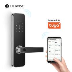 スマートな指ロックAPPデジタルRFID Tuyaのカード・コードのドアロック