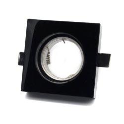 까만 육각형 수정같은 전등 설비 GU10 MR16 Downlight 이음쇠 (LT2127)