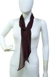 Dunne Women sjaal Rode stippen Print Neckerchief Decoratie Poly zijde Soft Touch 2021
