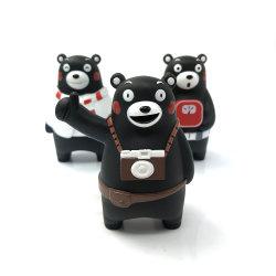 Fazer Custom animais fofos Bear figura PVC mole brinquedo de vinil