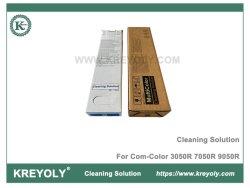 El líquido de limpieza para COM-Color 3050R 7050R 9050 R Solución de limpieza para la ruta de la tinta del cabezal de impresión