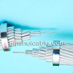 모든 알루미늄 도체(AAC) 및 알루미늄 도체 강철 보강(ACSR) 전원 케이블