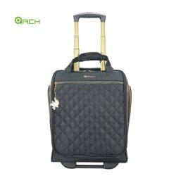 Transporter les bagages de voyage sac de mode sur le système de chariot d'aluminium sous le siège de tapisserie de patinage des roues