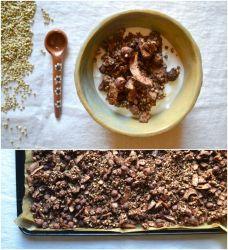 Grani di riso arrosto di grano saraceno al grano saraceno al 100% organici