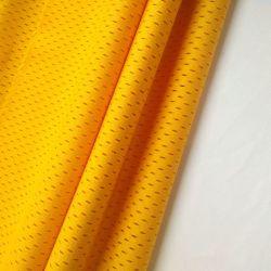 防水通気性のファブリック100%年のポリエステル伸縮性がある繭紬ファブリック