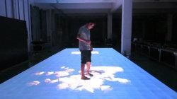 P6.25 Indoor Interactive LED de vídeo portátil perfeita caso sensível ao toque de Dança