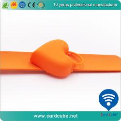Mano pulsera de silicona antibacterial higienizador rellenos de gel Don promoción ecológica Logotipo personalizado