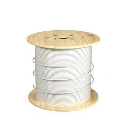 O melhor preço FTTH Council Piscina de Cabo de fibra óptica de 1 core 2 Core 4 core modo único LSZH G652D Awn