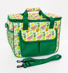 Refrigerador grande bolsa com alça a tiracolo amovível e ajustável