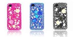 Rhinestone Bling Diamond Crystal Fall für iPhone 4G