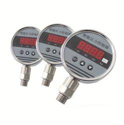 Qyk105 Aço inoxidável digital inteligente Controlador de Pressão do Sensor de Pressão do Interruptor de pressão montado inferior