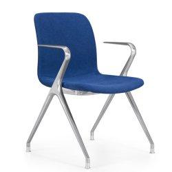 2020 Nuevo diseño elegante y confortable base de aluminio sillas modernas salas de conferencias