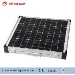 faltender Installationssatz des Sonnenkollektor-80W für das Kampieren