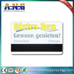 بطاقة Cr80 Standard Loco Hico Magnetic Stripe PVC للطباعة الملونة في فندق Key