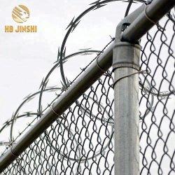 Collegare di recinzione pungente galvanizzato antiruggine del rasoio a fisarmonica della grande bobina della Nigeria 980mm