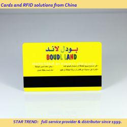 Cmyk de impresión colorida tarjeta magnética para el Hotel y Resort acceso