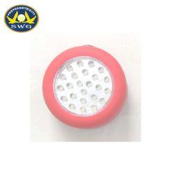 Crochet d'entraînement de la batterie AAA ronde 24LED lumière Push