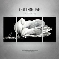 Blühender Blumen-Metallwand-Farbanstrich/Fertigkeit für Dekor (CHB6012023)