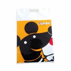 LDPE personnalisé Die Cut en plastique coloré des sacs de magasinage avec Design Logo